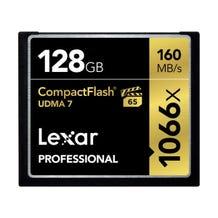 Lexar 128GB Professional 1066x CompactFlash Memory Card (UDMA 7)