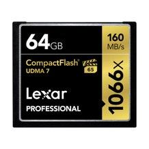 Lexar 64GB Professional 1066x CompactFlash Memory Card (UDMA 7)