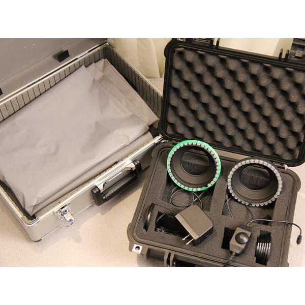 LEDChromaKEY Standard LED Kit with 12' x 9.5' Backdrop - Open Box