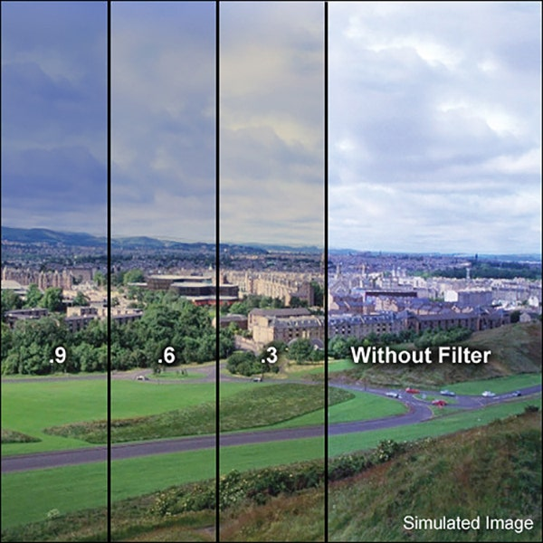 """LEE Filters 3 x 3"""" 85 Color Conversion Polyester Filter - Neutral Density 0.6"""