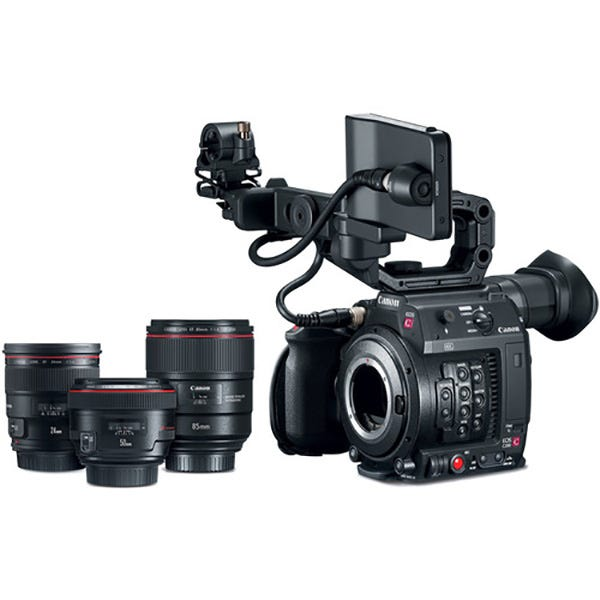Canon EOS C200 EF w/ Prime Lens Bundle