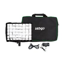 Ledgo Bi-Color Large LED Pad Light, Egg Crate and Bag