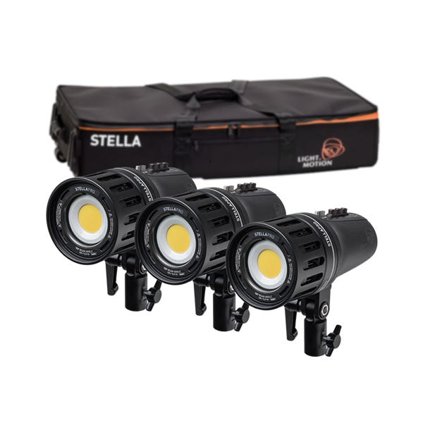 Light & Motion Stella Pro 888 RF 3-Light Kit