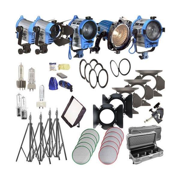 Arri Softbank IV Plus 5 Light Kit - 120V AC