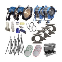 Arri Arrilite/Fresnel Tungsten 4 Light Combo Kit - 120V AC