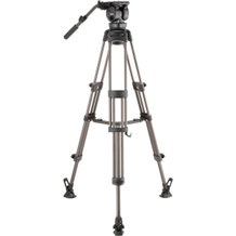 Libec 2-Stage Aluminum Tripod System with Mid-Level Spreader