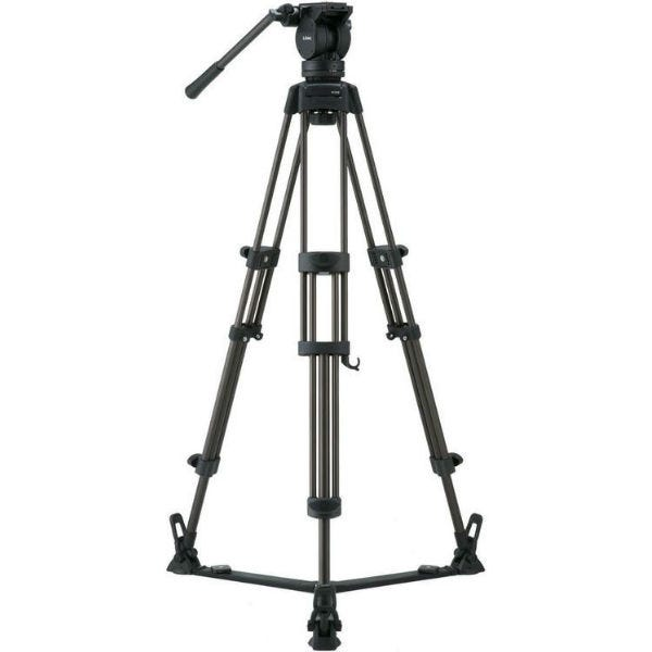 Libec Tripod With Pan and Tilt Fluid Head and Floor Spreader