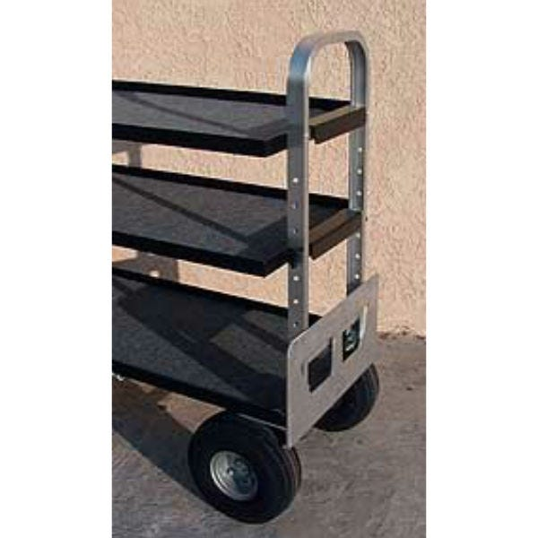 "Backstage MAG-CA SR-M Mag Senior 24"" Middle Shelf - Aluminum"