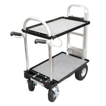 "Magliner Mini Cart w/ 8"" Casters , G5 Shelf & Locking Handles"