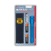 Maglite Mini Maglite 2-Cell AA Flashlight with Holster - Blue