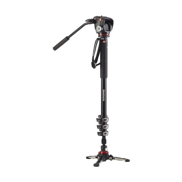 Manfrotto XPRO Video Monopod Plus with XPRO2W Fluid Head