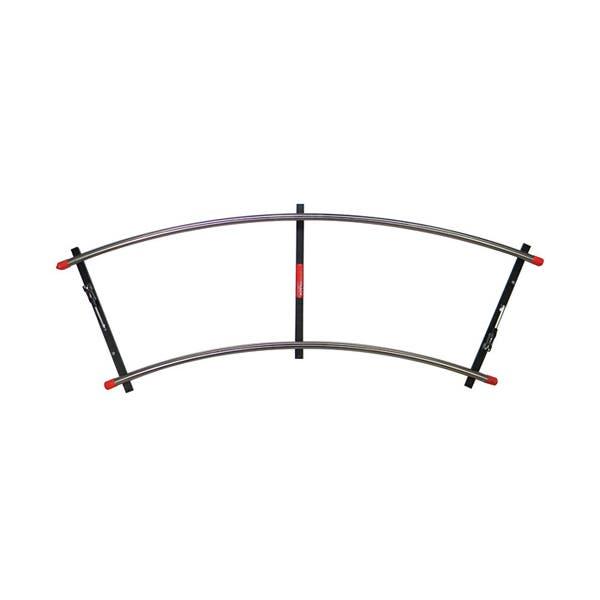 Matthews Studio Equipment Stainless Steel Curved Track - 8' Section - 20' Diameter #397059