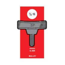 Matthews Studio Equipment T-Handle 3/8-16 Bullet - Black