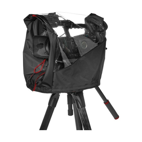Manfrotto Pro Light Video Camera Raincover for Small Camcorder / DSLR Rig - Black
