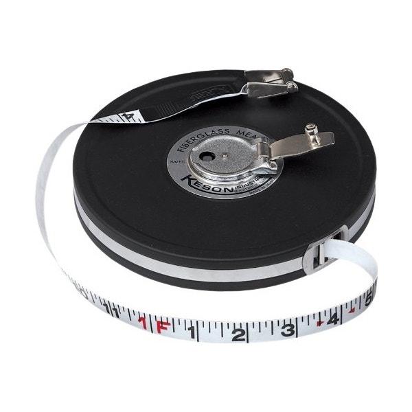 Keson MC18M50 50' Fiberglass Tape Measure - Feet & Meters