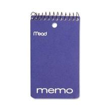 "Mead 3 x 5"" Wirebound Memo Pad"