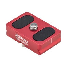 MeFOTO BackPacker Air Quick Release Plate - Red