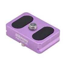 MeFOTO BackPacker Air Quick Release Plate - Purple