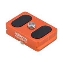 MeFOTO BackPacker Air Quick Release Plate - Orange