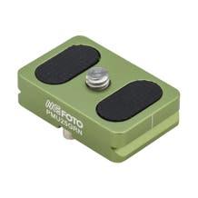 MeFOTO BackPacker Air Quick Release Plate - Green