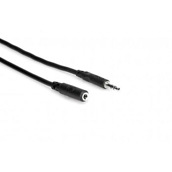 Hosa Headphone Extension Cable - 2' - 3.5 mm TRS