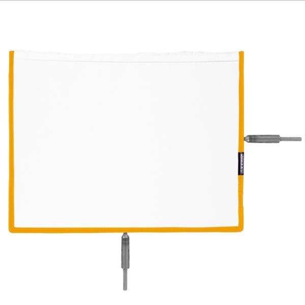 """Modern Studio 10"""" x 12"""" Silk Diffuser - Artificial White"""