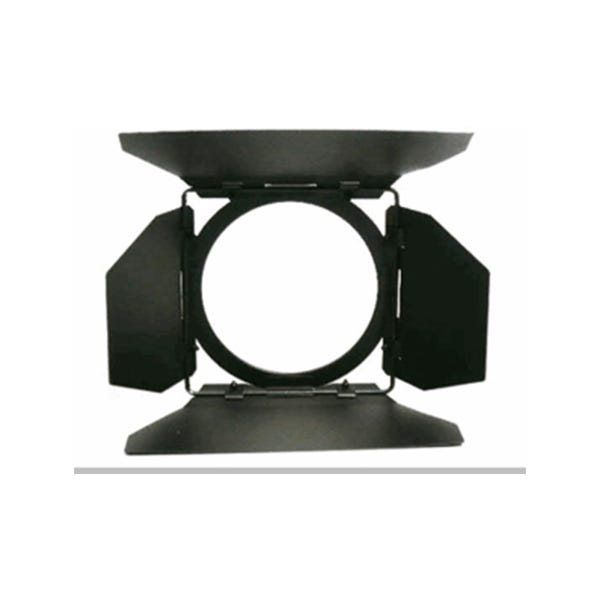 Mole-Richardson 4-Way 4-Leaf Barndoor for 150W BabyLED Fresnel