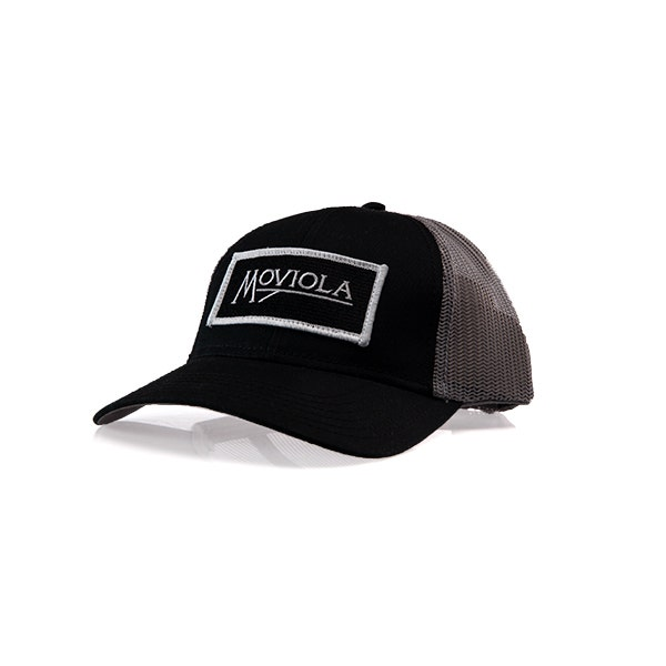 Moviola Trucker Hat Snapback - Black