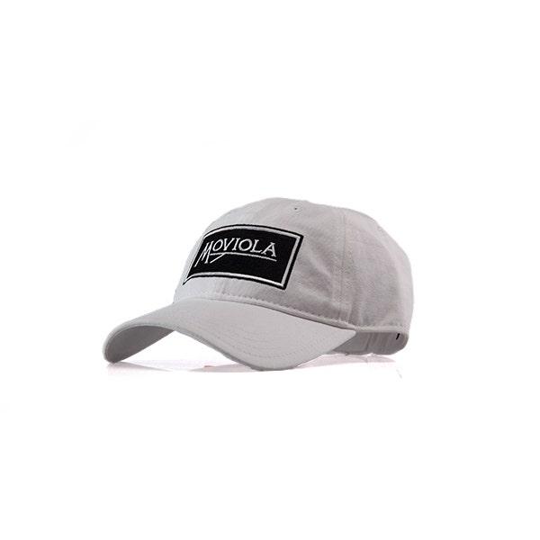 Moviola Ball Cap - White
