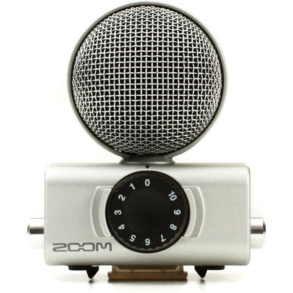 Zoom MSH-6 Mid-Side MIcrophone Capsule for Zoom H5 and H6 Field Recorders