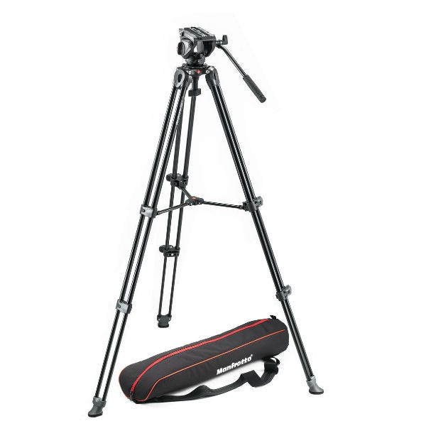 Manfrotto MVH500A, MVT502AM Tripod Kit
