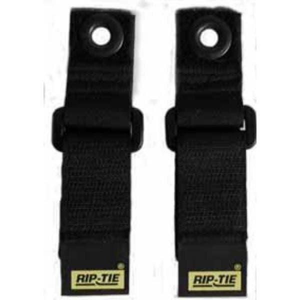 """Rip-Tie  Hook and Loop  Cinch Strap - EG 1"""" x 7"""" (Pack of 2)"""