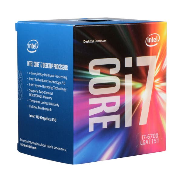 HP Intel Core i7-6700 3.4 GHz Quad-Core Processor