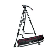 Manfrotto Nitrotech N8 Fluid Video Head and 546B Pro Video Tripod with Mid-Level Spreader