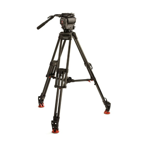 OConnor Ultimate 1030D Fluid Head & 30L CF Tripod with Mid-Level Spreader & Case
