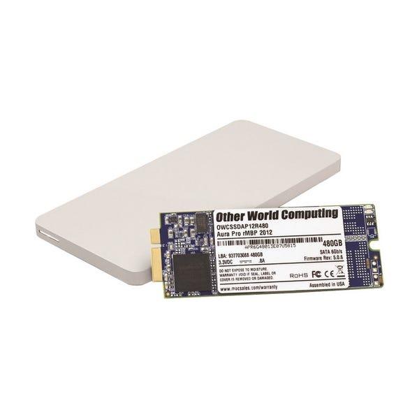 OWC 480GB Aura Pro 6G Solid State Drive & Envoy Pro Storage Solution