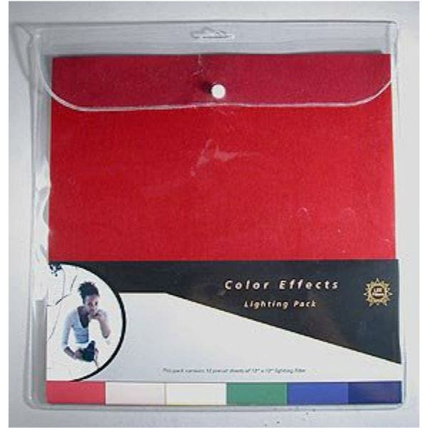 """LEE Filters 10 x 12"""" Color Effects Lighting Filter Sheet Pack - 12 Sheets"""