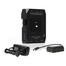 Core SWX Powerbase EDGE V-Mount Battery Kit with LP-E6 Cable & D-Tap Charger