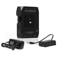 Core SWX Powerbase EDGE V-Mount Battery Kit w/ L-Series Cable & D-Tap Charger