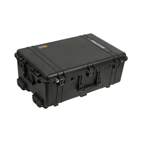 Pelican 1650 Case without Foam - Black