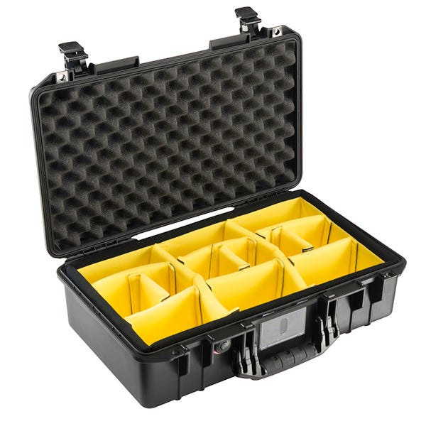 Pelican 1525 Black Air Case - Dividers