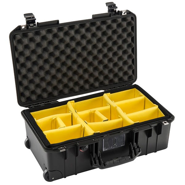 Pelican 1535 Black Air Case - Dividers