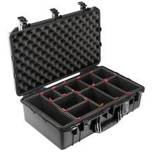 Pelican 1555 Black Air Case - TrekPak
