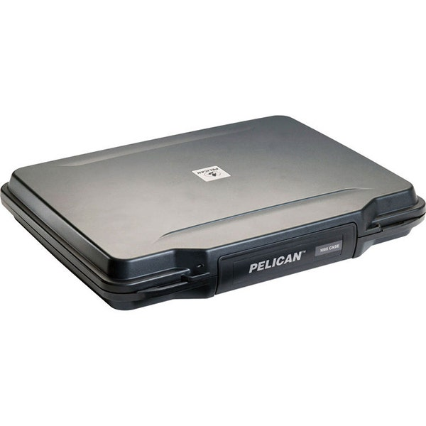 Pelican 1085 Hardback Laptop Computer Case with Foam - Black