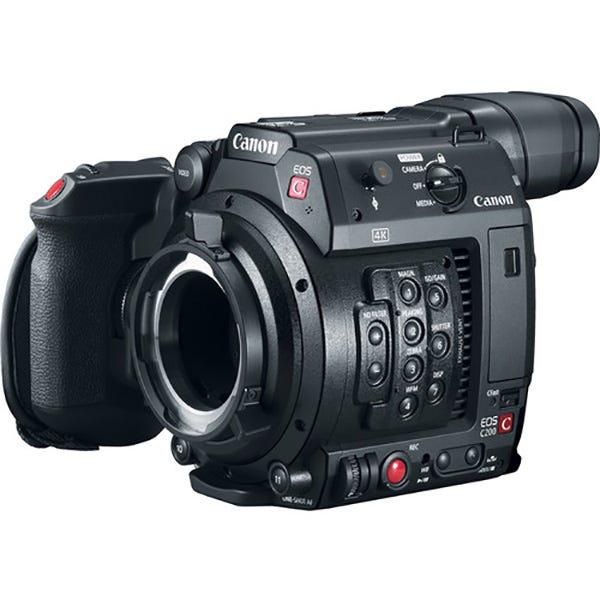 Canon EOS C200 PL Mount Cinema Camera