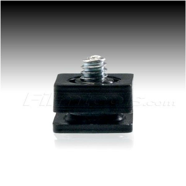 Filmtools Paramount Male Hot Shoe Adapter Accessory with 1/4-20 Screw