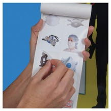 Accuform Safety Sign: PPE-ID Label Booklet - English