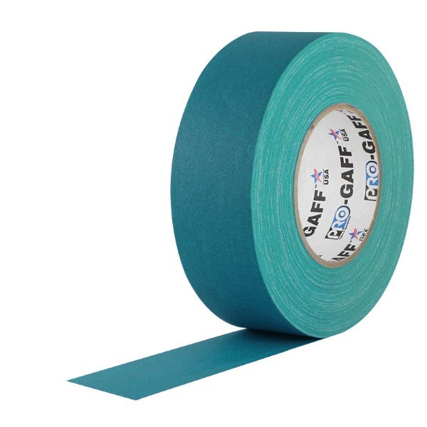 """ProTapes 2"""" Cloth Tape - Teal"""