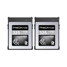 ProGrade Digital CFexpress 2.0 (Type-B) 325GB Cobalt Memory - 2 Pack
