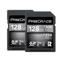 ProGrade Digital SDXC UHS-II V90 Memory Card - 128GB (2 Pack)
